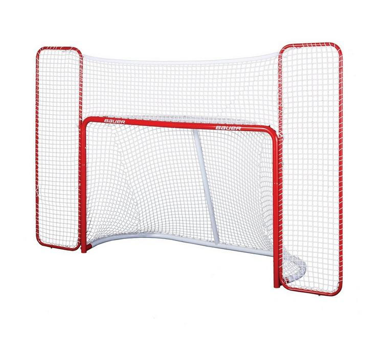 BAUER HOCKEY GOAL WITH BACKSTOP 1