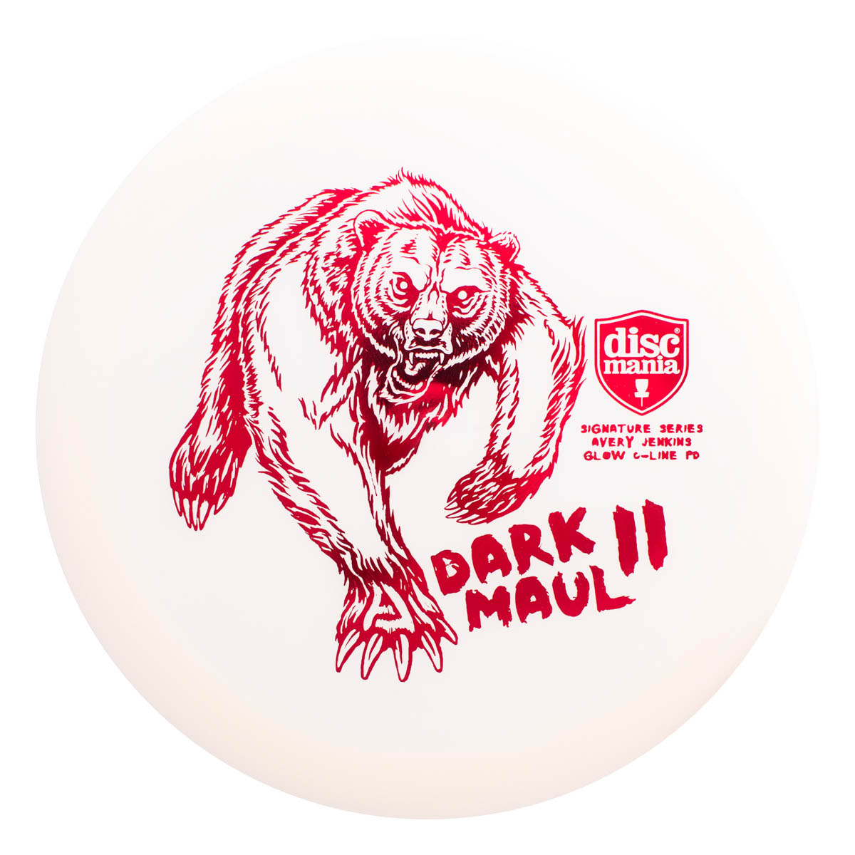 DISCMANIA C-LINE COLOR GLOW PD AVERY JENKINS DARK MAUL 2 1