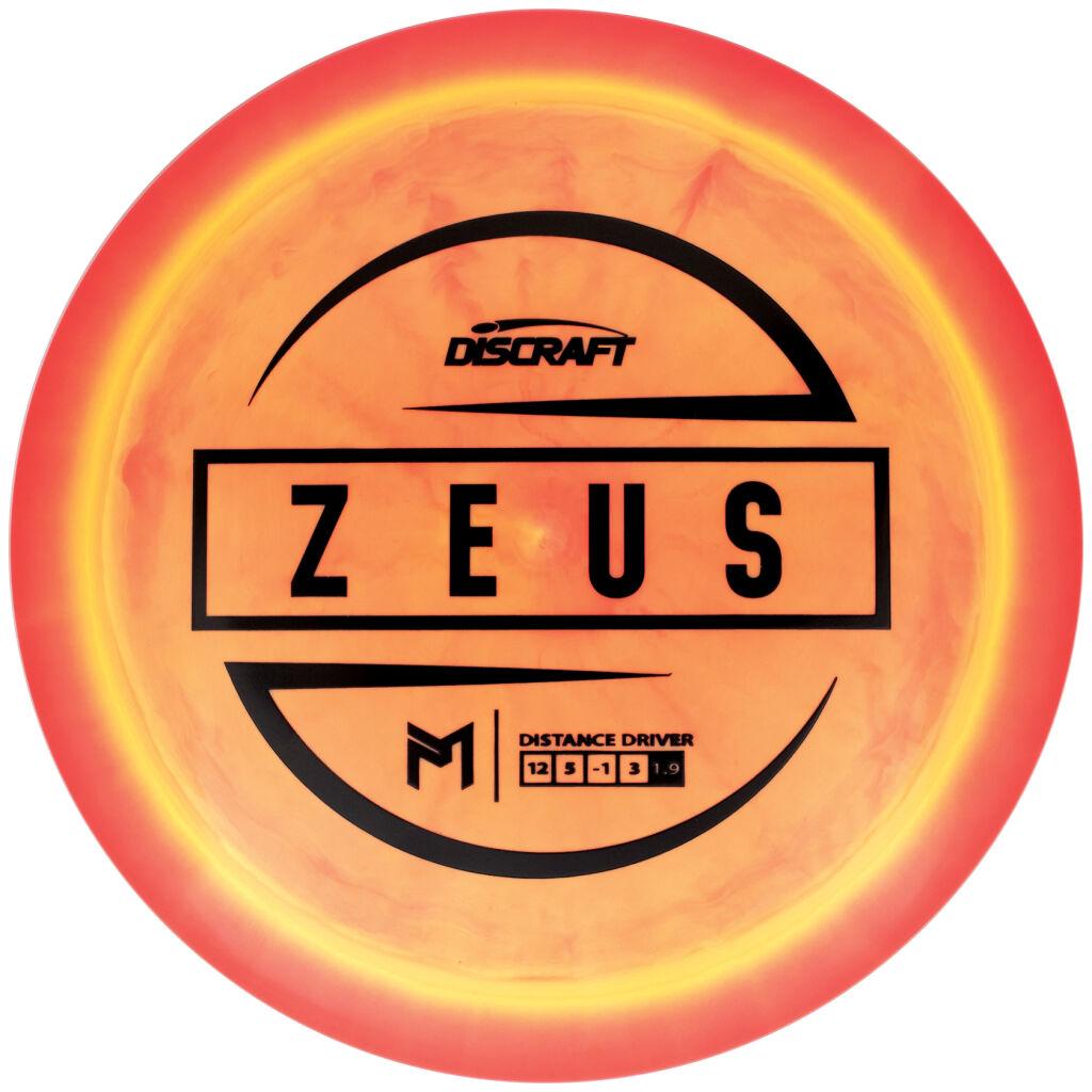 DISCRAFT ESP ZEUS PAUL MCBETH SIGNATURE 1