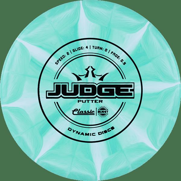 DYNAMIC DISCS CLASSIC BLEND BURST JUDGE 1