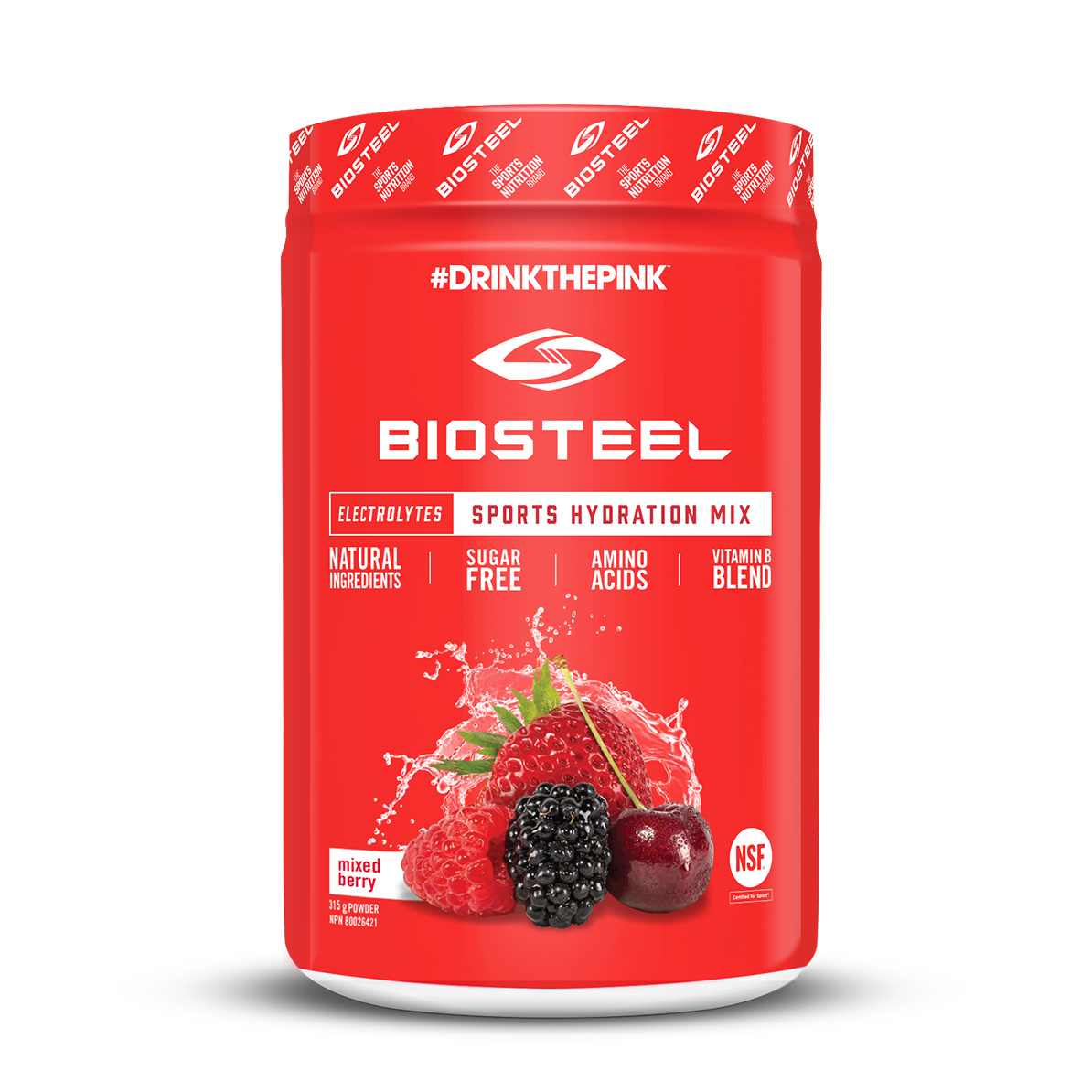 BIOSTEEL HIGH PERFORMANCE SPORTS MIX 700G 1