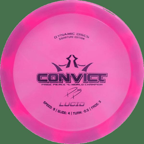 DYNAMIC DISCS LUCID CONVICT -PAIGE PIERCE 4X WC 1