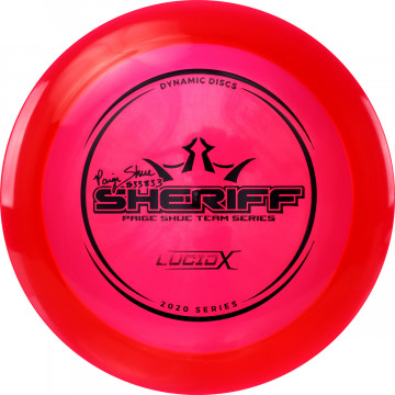 DYNAMIC DISCS LUCID-X SHERIFF- PAIGE SHUE TEAM SERIES 2020 1